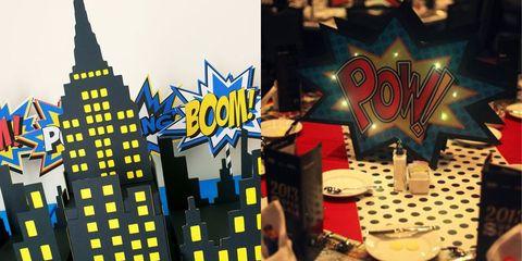 superhero homecoming theme