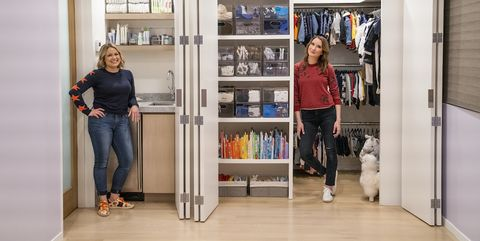 get organized with the home edit l to r joanna teplin and clea shearer in episode 104 of get organized with the home edit cr christopher pateynetflix © 2020