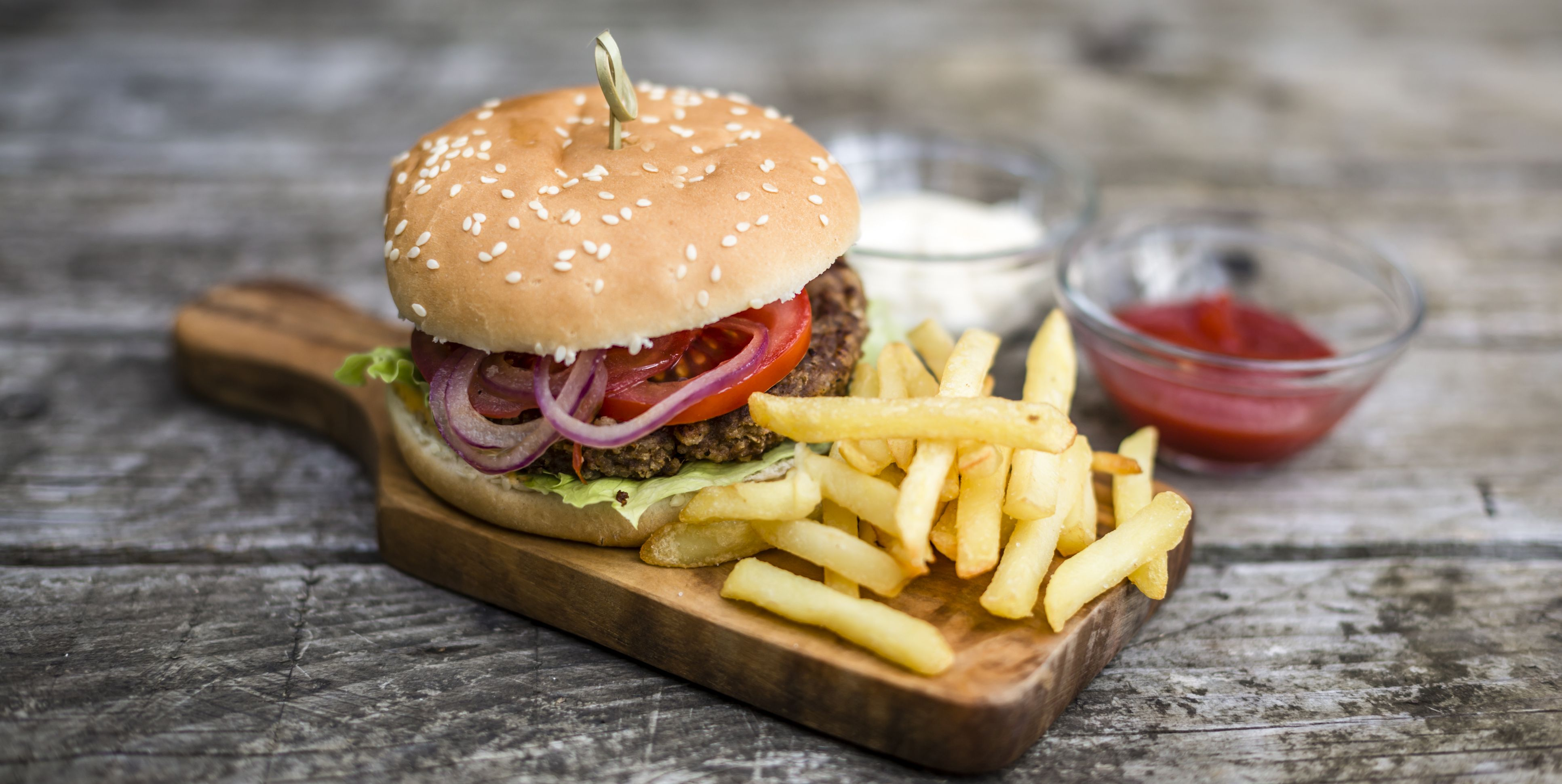 burgers barbecue