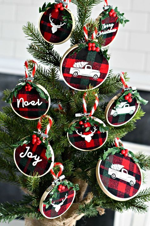 homemade christmas ornaments flannel