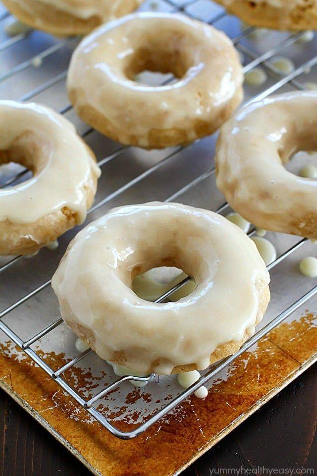 homemade eggnog desserts donuts