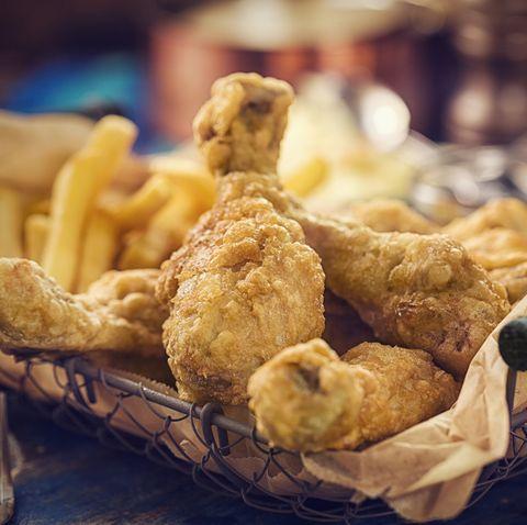Homemade Golden Fried Chicken