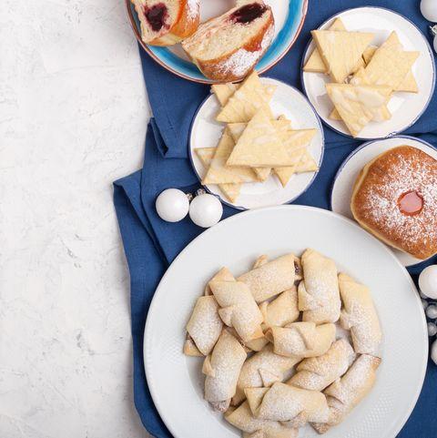 Homemade Hanukkah desserts