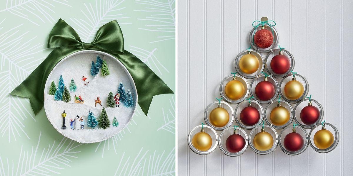 40 Easy Diy Christmas Decorations Homemade Holiday Decorations