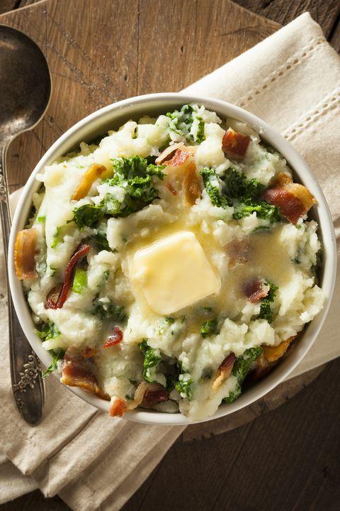 Homemade Irish Potato Colcannon