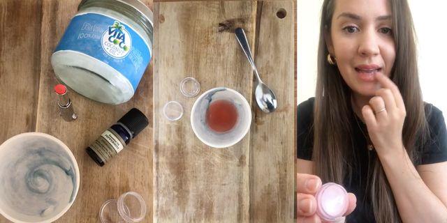 homemade lip balm   women's health uk