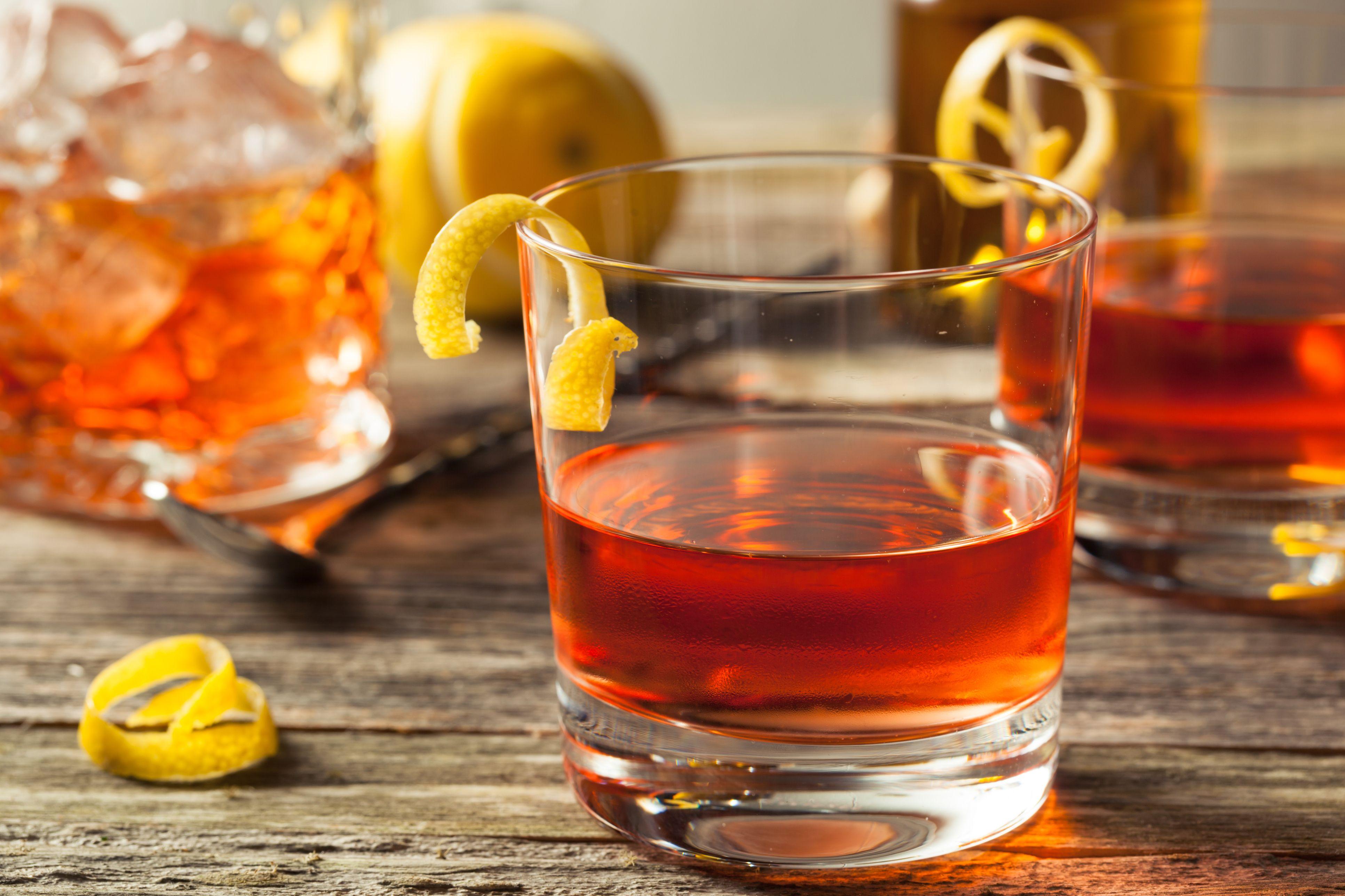 Il leggendario primo Cocktail Americano