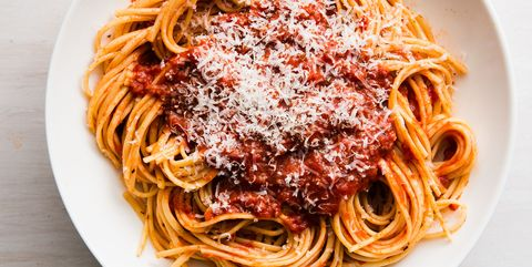 20 Best Pasta Sauce Recipes How To Make Homemade Spaghetti Sauce From Scratch Delish Com
