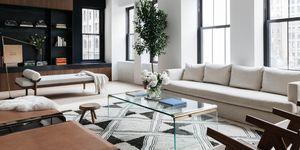 Loft con líneas arquitectónicas y acabados industriales en Nueva York diseñado por Jae Joo