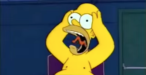 what homer simpson would look like in real life homer simpson s