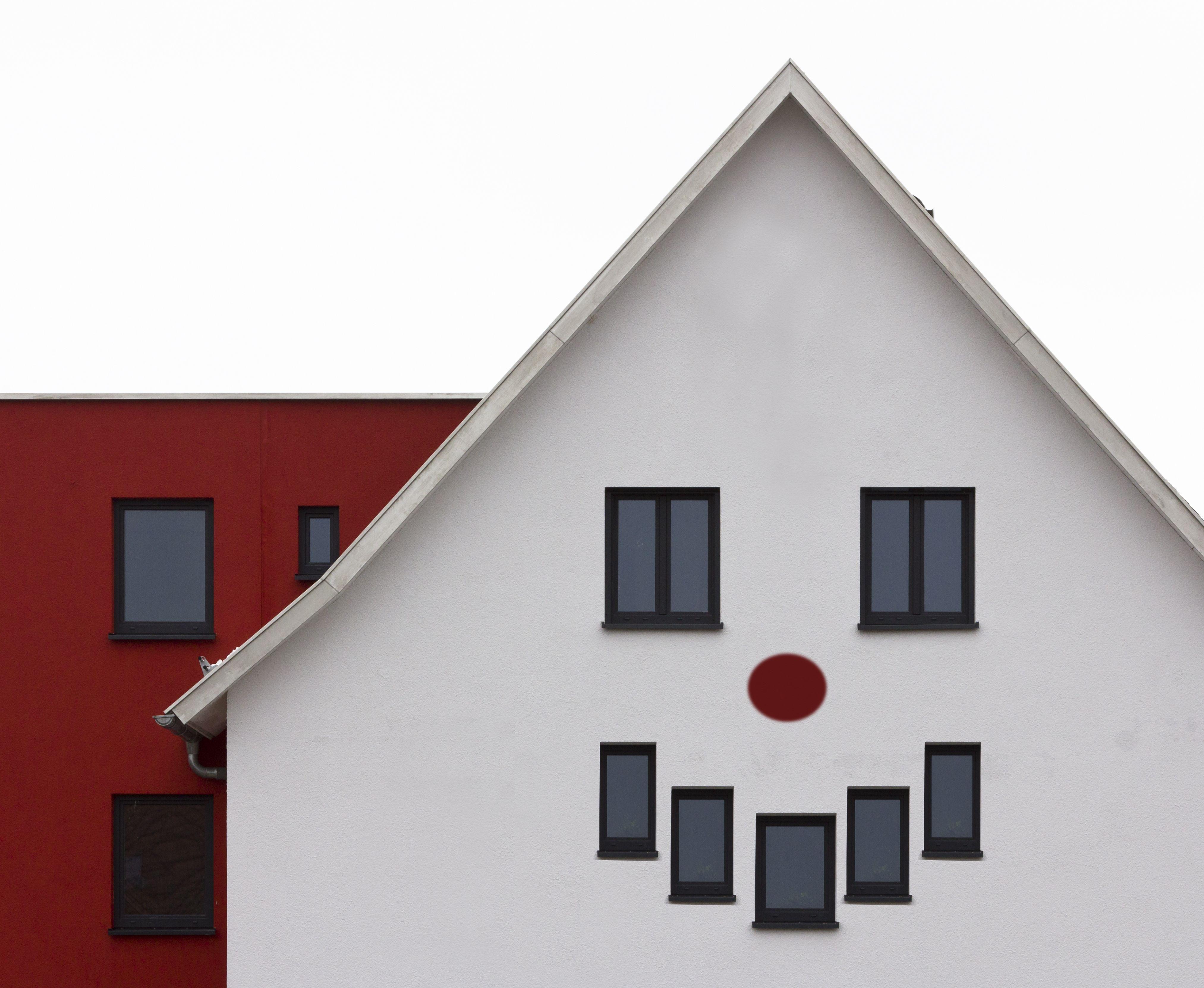 Edificios que parecen tener cara