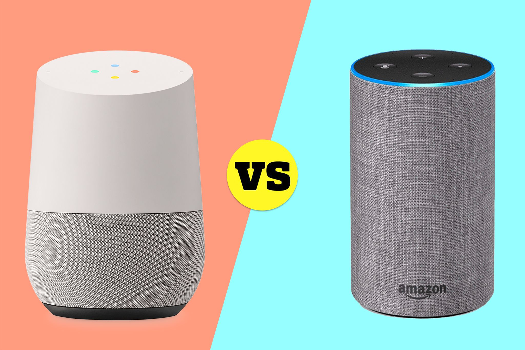 Should I Buy a Google Home or Amazon Echo?