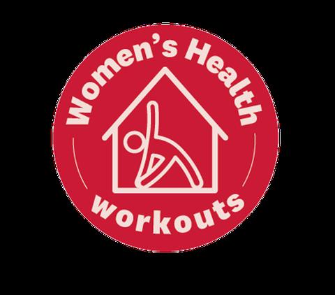 home workouts badge, women's health uk