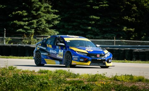 Honda Civic TCR race car
