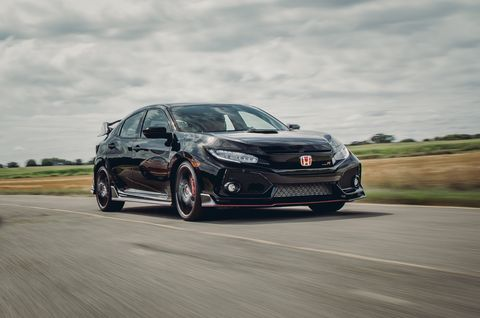 Our Honda Civic Type R Wore Through A Tire In Fewer Than