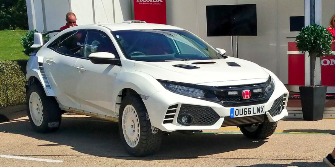 This Lifted Civic Type R Is a Rally Fantasy Come to Life