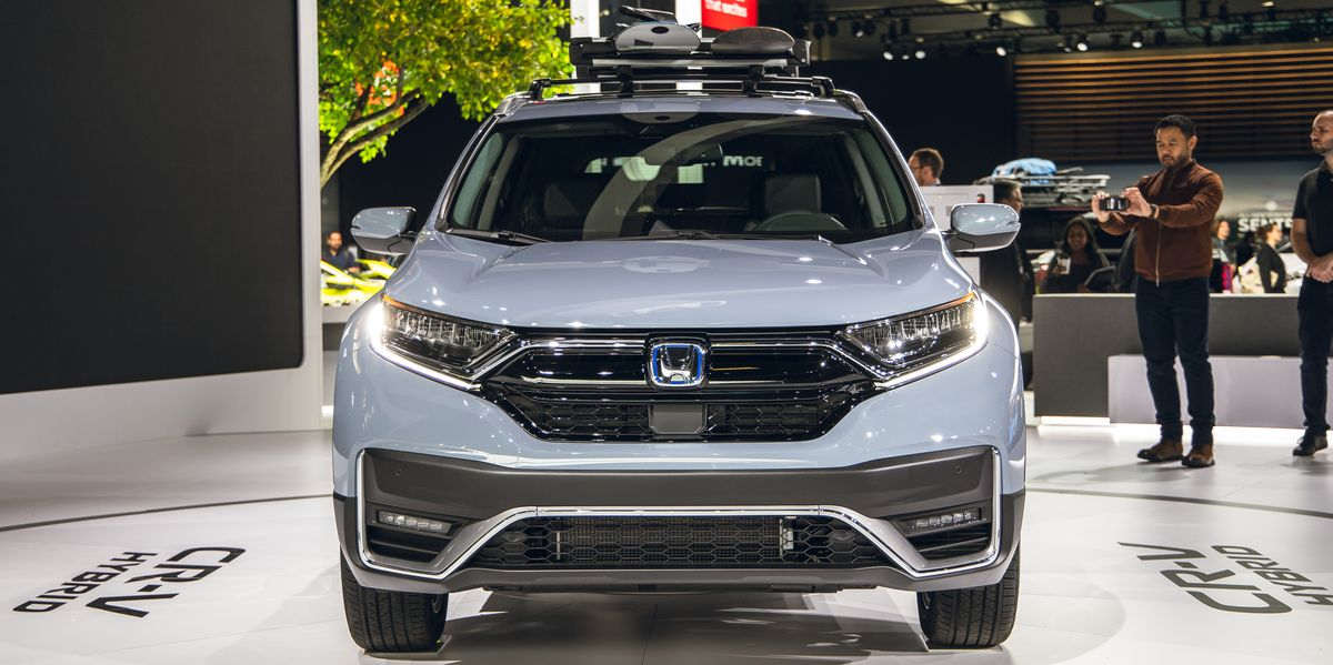 Certified Pre Owned Bmw >> 2020 Honda CR-V Adds a Hybrid Model and Gets a New Look