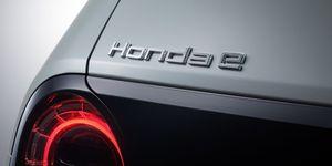 Honda E - logotipo