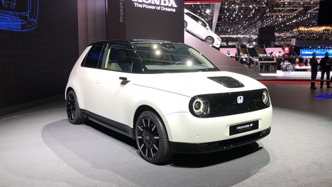 Honda S Cute New Ev Will Be Called The Honda E