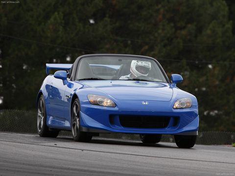 land vehicle, vehicle, car, sports car, automotive design, honda s2000, honda, hood, performance car, automotive exterior,