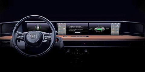 Honda Urban EV Prototype interior