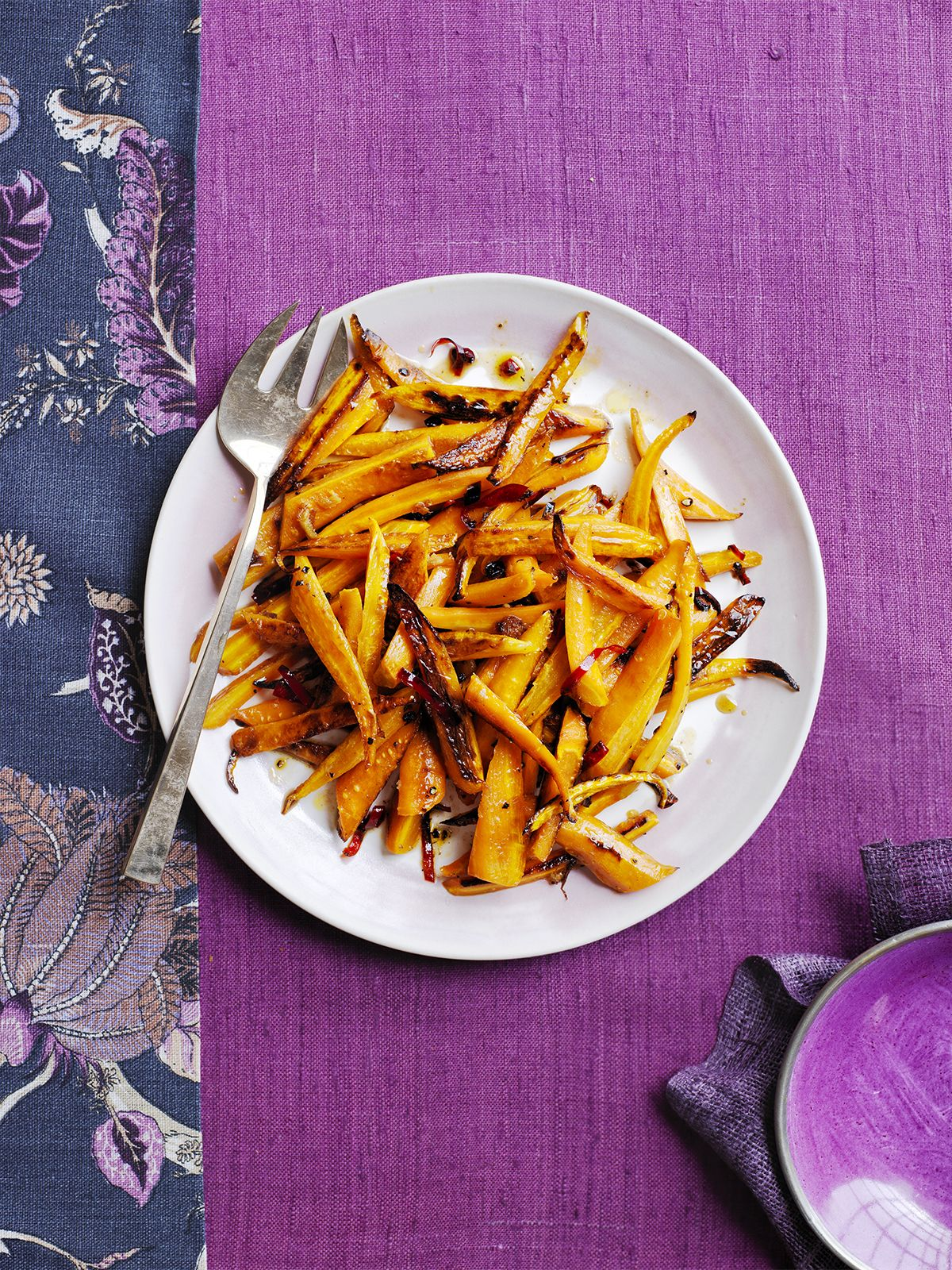Honey-Glazed Roasted Carrots