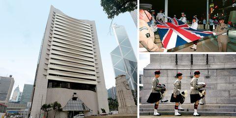 Architecture, Uniform, Tourism, World, Building, Art, Flag, Tourist attraction, Facade,
