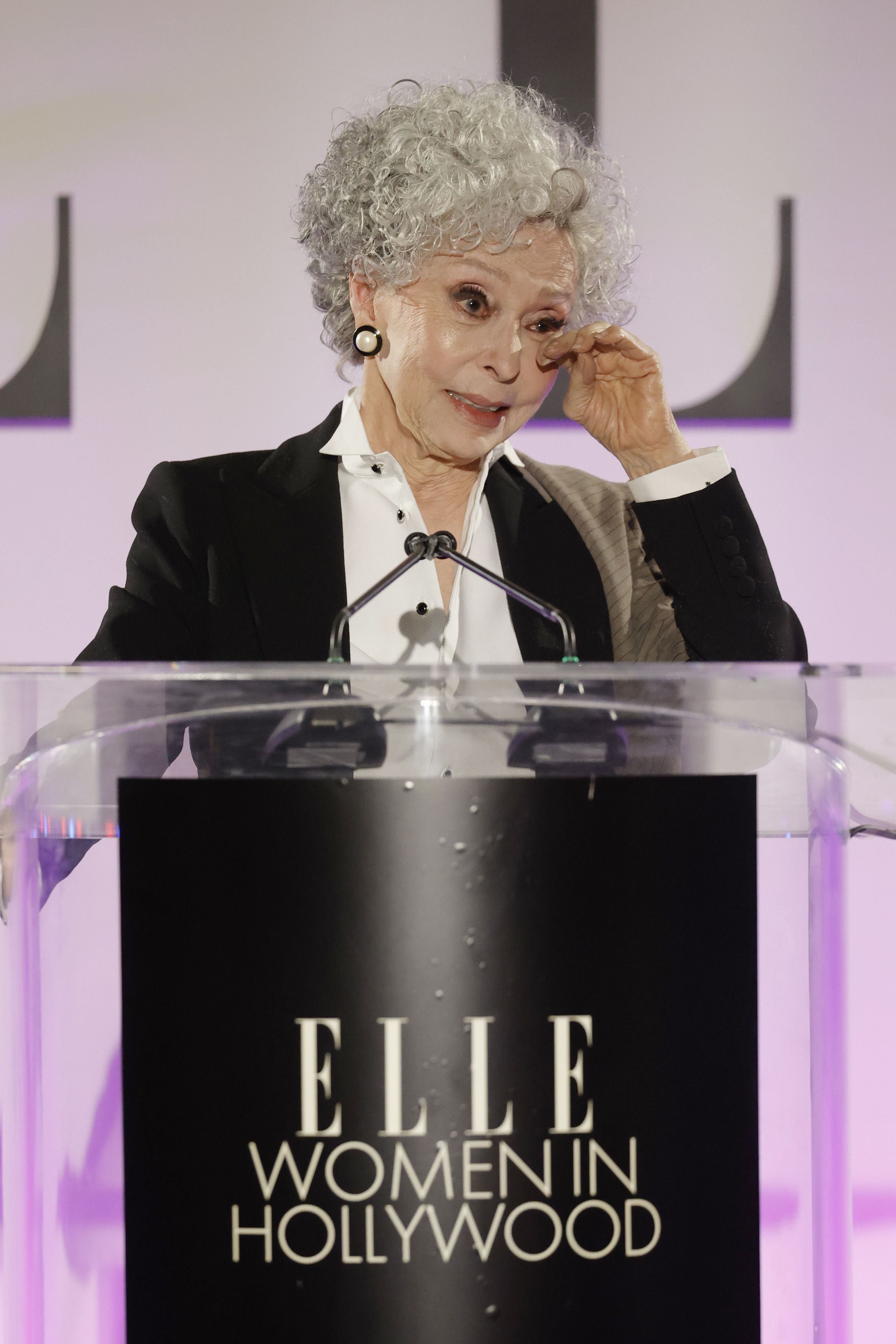Rita Moreno Had The Perfect Comedic Response To Her Tribute At ELLE's Women in Hollywood Event