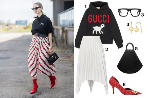 Clothing, White, Street fashion, Red, Fashion, Black-and-white, Footwear, Shoe, Monochrome photography, Outerwear,