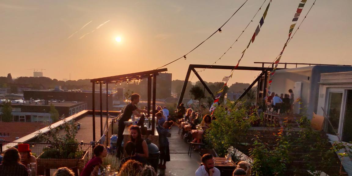 Hoogtij Amsterdam-Noord Groovy Tables