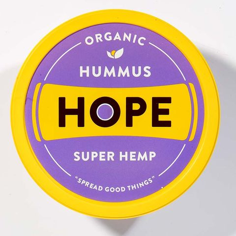Hope Foods Organic Super Hemp Hummus