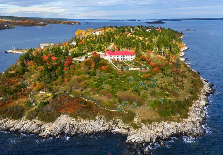 Private Island In Maine For Sale For $8 Million - Hope Island Maine