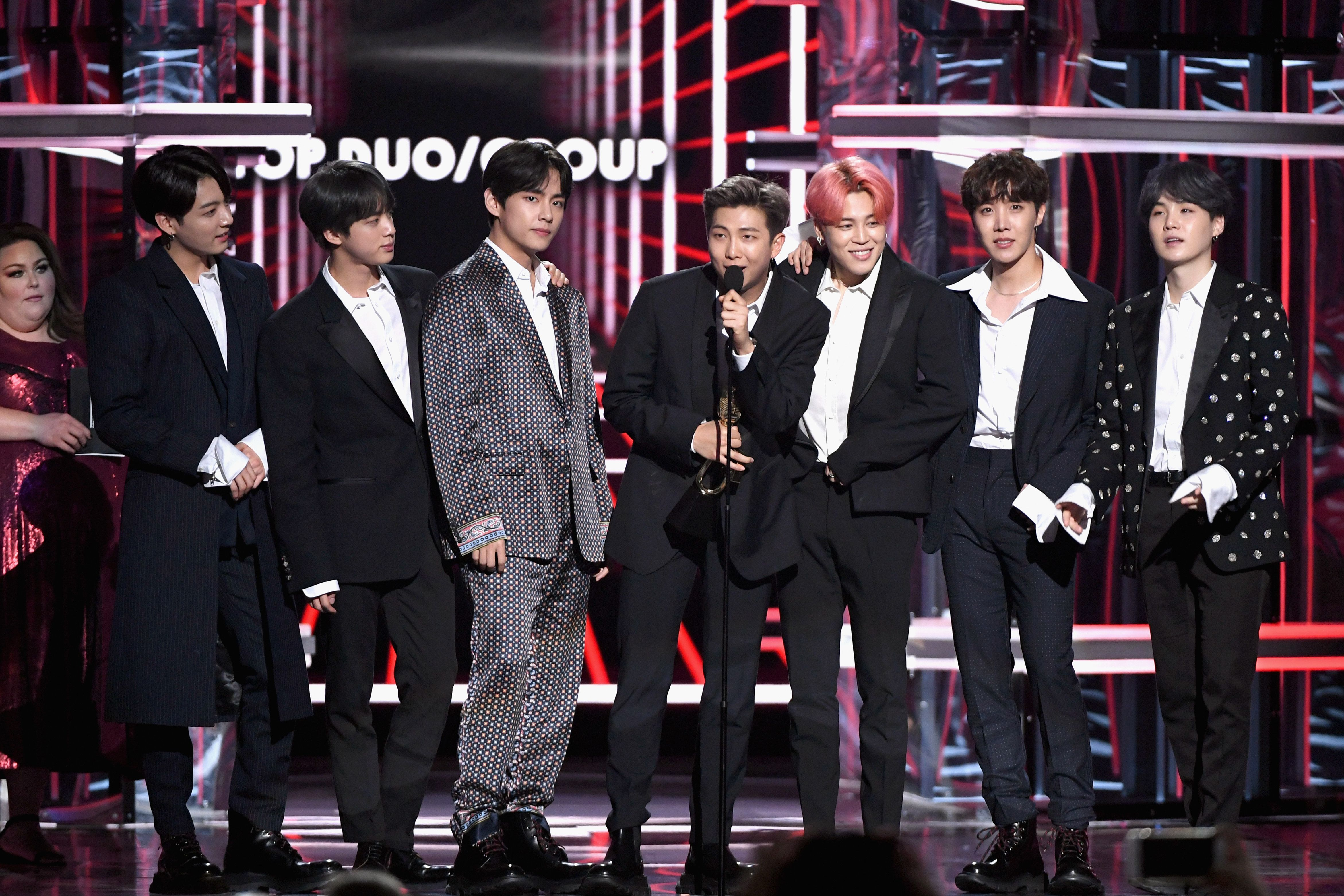 See RM From BTS's Full Acceptance Speech Transcript for