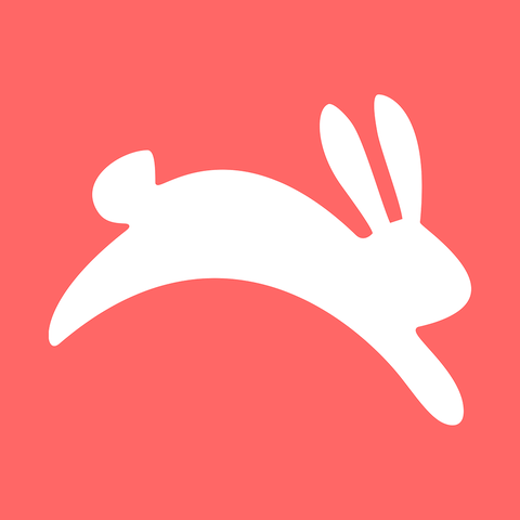 Red, Finger, Hand, Illustration, Rabbit, Gesture, Tail, Rabbits and Hares, Graphics, Logo,