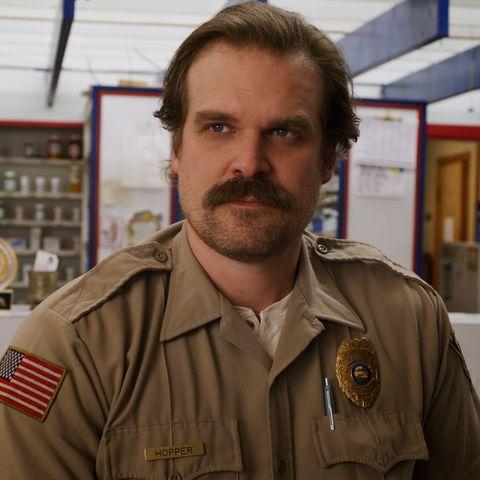 David Harbour as Chief Jim Hopper