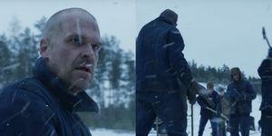 David Harbour as Hopper in Stranger Things Season 4