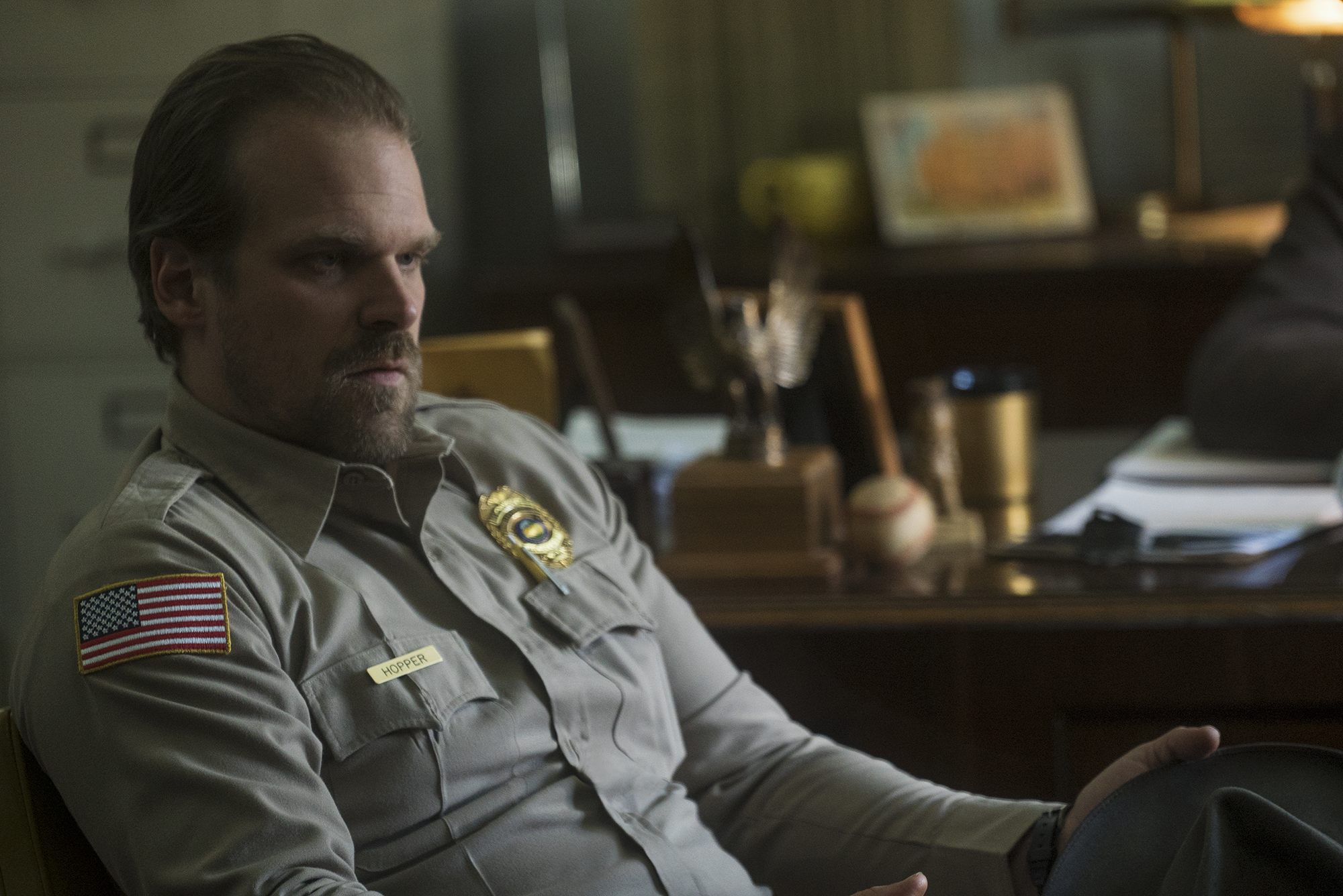 Hopper's 19 Most Daddy Moments on Stranger Things 2