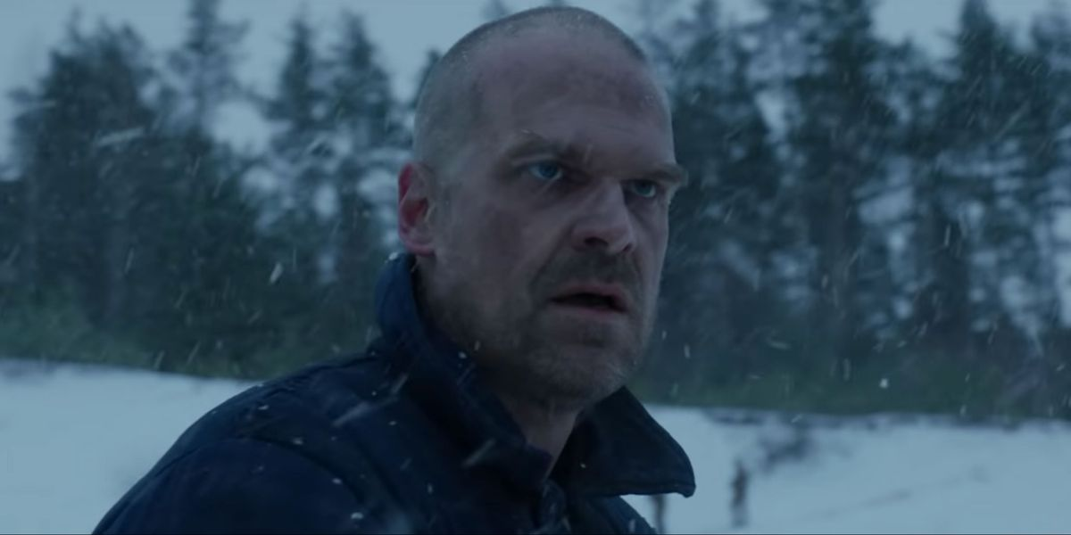 """Stranger Things"" Reveals Hopper is The American in First Teaser for Season 4"