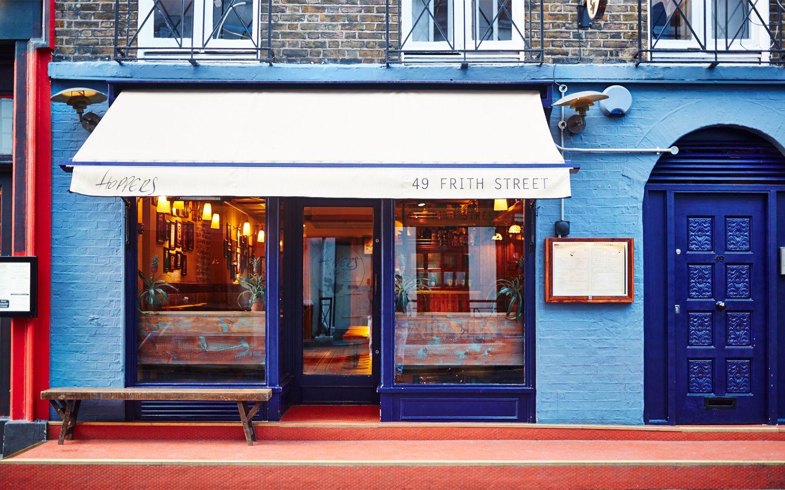 Hoppers restaurant London