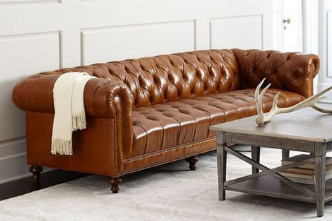 Moud Davidson Tufted Seat Chesterfield Sofa