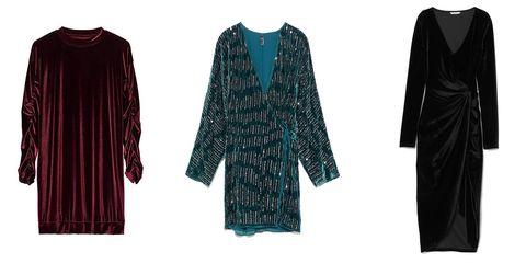fc772d12d Los vestidos de terciopelo que arrasarán este invierno - Vestidos de ...