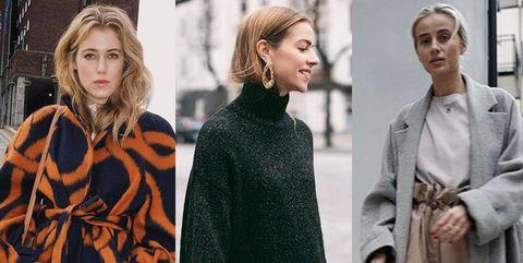 Clothing, Street fashion, Fashion, Outerwear, Overcoat, Coat, Fashion model, Poncho, Cape, Sweater,