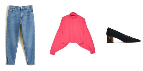 Denim, Jeans, Clothing, Pink, Trousers, Footwear, Textile, Outerwear, Pocket, Shorts,