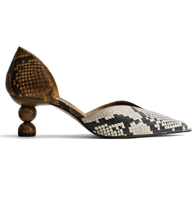 e3e9687f Zapatos de tacón bajo para salir de fiesta sin sufrir