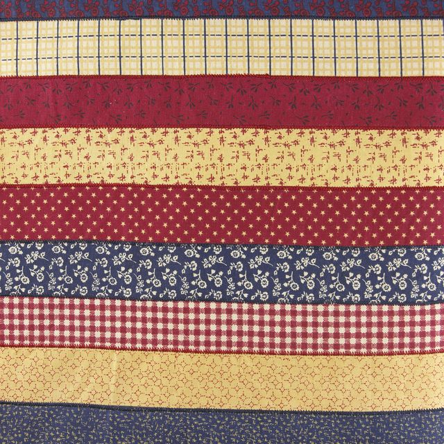 horizontal quilted patterns