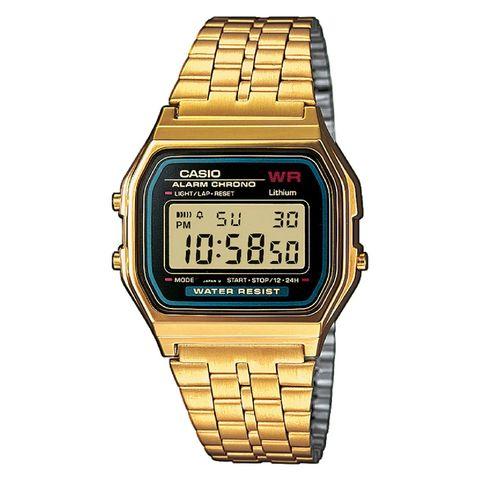 horloge, watch, polshorloge, gouden