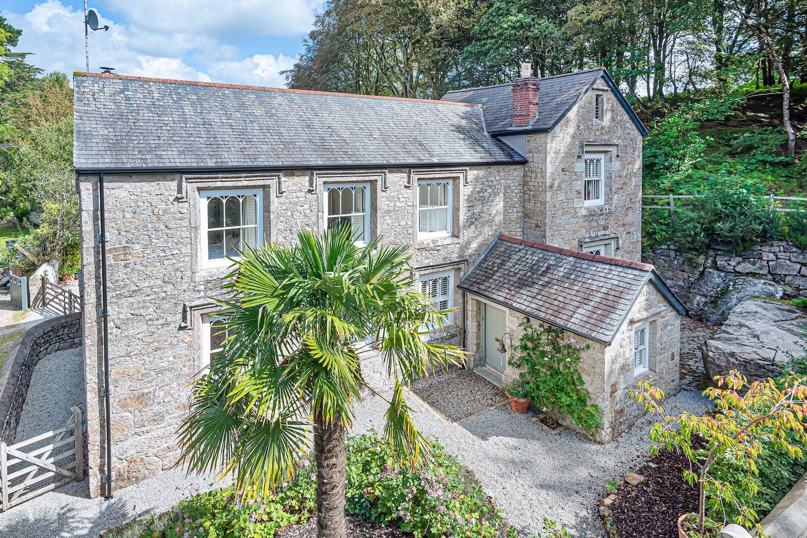 Charming Grade II listed village house for sale in Cornwall