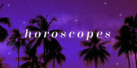 Sky, Purple, Palm tree, Tree, Night, Font, Arecales, Plant, Midnight, Space,