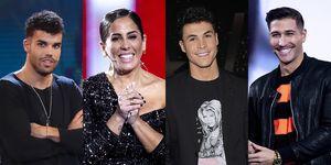 Pol Badía, Anabel Pantoja, Kiko Jiménez y Gianmarco Onestini, finalistas de 'El tiempo del descuento'