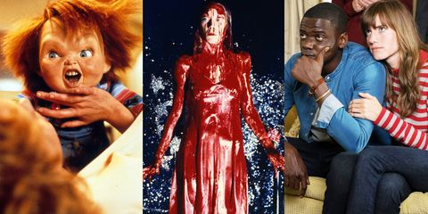 chucky, carrie, get out movies